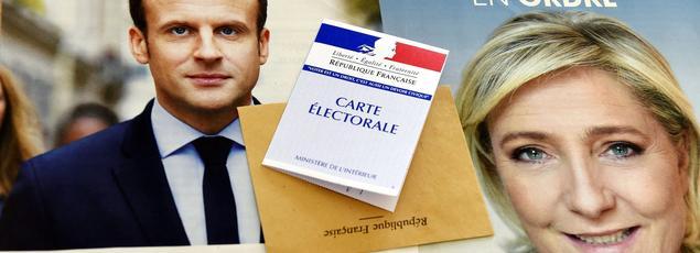 Emmanuel Macron et Marine Le Pen sont qualifiés pour le second tour de l'élection présidentielle.