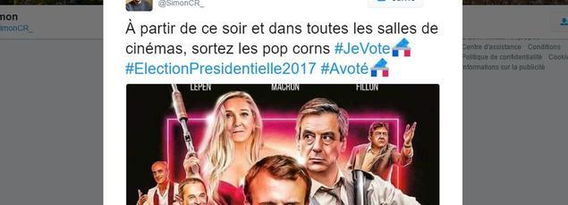 Voici l'un des tweets sélectionnés par l'équipe social media du Figaro.