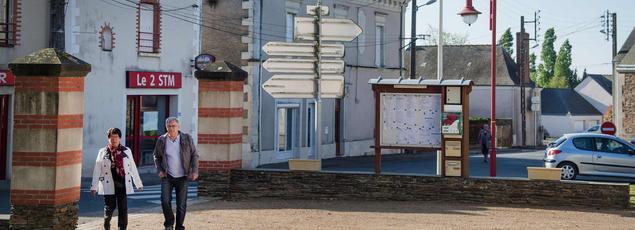 Dans la commune du Pin en Loire-Atlantique.