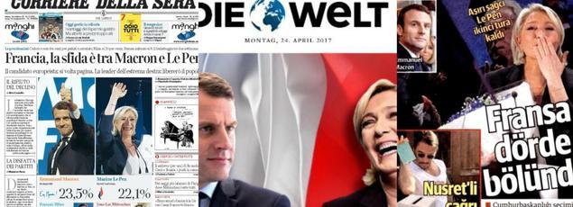 Les unes du Corriere Della Serra, en Italie, de Die Welt en Allemagne et du Yeni Şafak en Turquie.