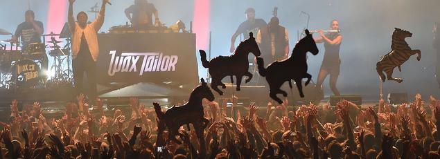 Le groupe français Wax Taylor a donné un concert vendredi 21 avril au Printemps de Bourges.
