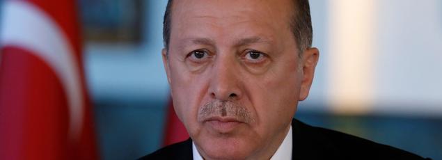 Recep Tayyip Erdogan, le 25 avril.