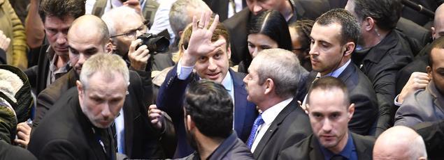 Emmanuel Macron a vu sa sécurité renforcée après sa qualification pour le second tour de la présidentielle.