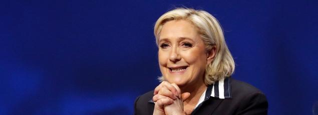 Marine Le Pen est venue à Nice symboliquement, comme une guerrière en terre conquise pour remercier ses troupes.