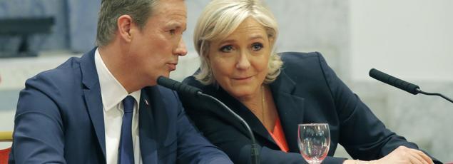 Marine Le Pen a dit samedi vouloir nommer comme premier ministre Nicolas Dupont-Aignan, si elle est élue le 7 mai .