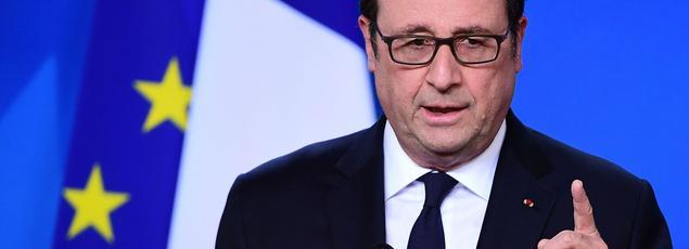 François Hollande, le 29 avril 2017.