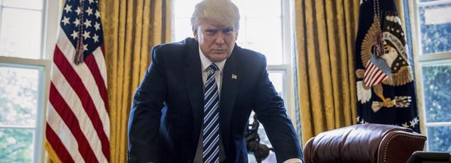 Le président des États-Unis a célébré samedi ses 100 jours à la Maison-Blanche.