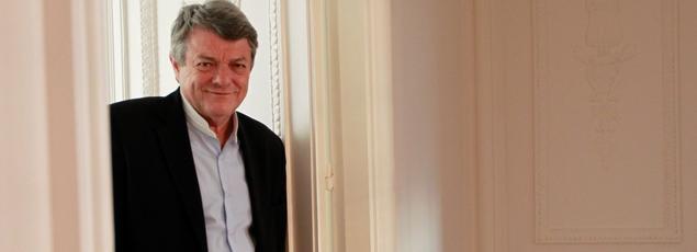 L'ancien ministre Jean-Louis Borloo dans ses bureaux