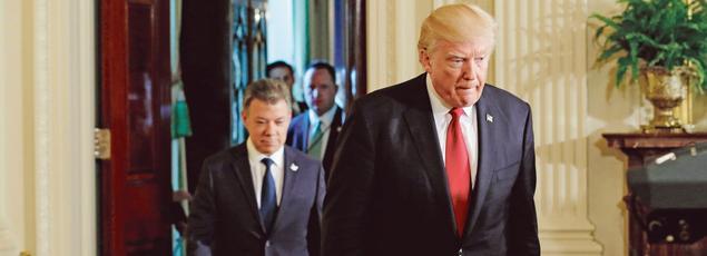 Donald Trump, jeudi à la Maison-Blanche.