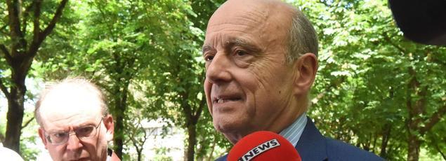 Alain Juppé, à Bordeaux, le 15 mai.