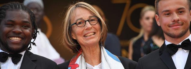 Sur la Croisette, la ministre de la Culture doit aussi recevoir un prix pour une collection de livres de cinéma qu'elle publie depuis 25 ans en partenariat avec l'Institut Lumière.