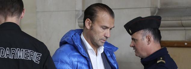 Dimitri Mohamadi, gérant du Casa Nostra, à son procès le 26 avril 2017.