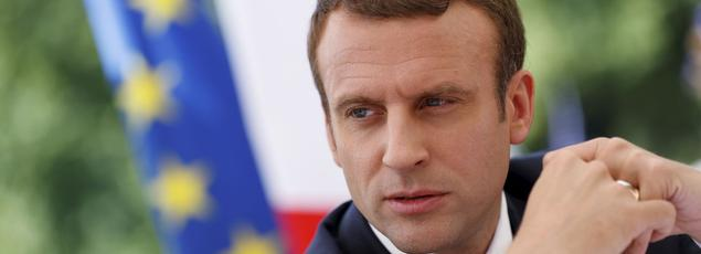 Emmanuel Macron, le 21 juin.
