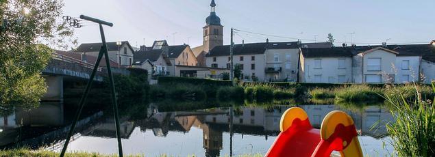 La Vologne, à Docelles (Vosges), où a été retrouvé le corps du petit Grégory Villemin, le 16 octobre 1984.