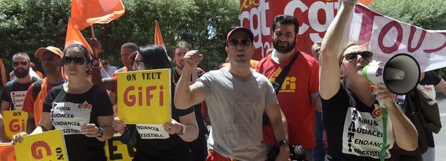 En dehors de la CGT, les syndicats penchaient pour l'offre de Gifi qui est «incontestablement la meilleure» pour la reprise de Tati.