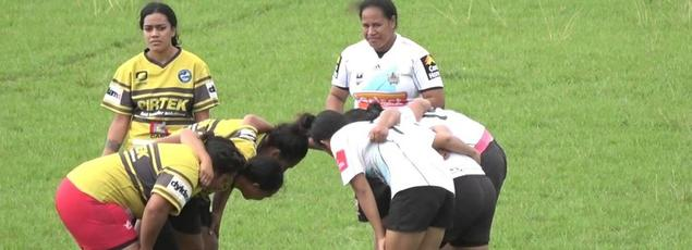 Rugbywomen tongiennes.
