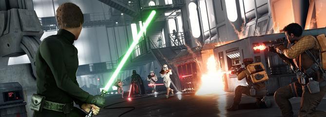Star Wars Battlefront : une nouvelle bande-annonce épique