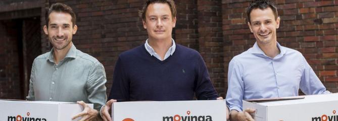 La plateforme de déménagement Movinga lève 17millions d'euros