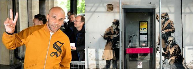 Banksy : pour DJ Goldie, ce serait le chanteur de Massive Attack