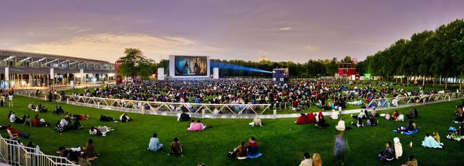 Les temps forts du cinéma en plein air à La Villette