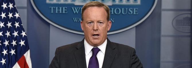 Le porte-parole de la Maison-Blanche, Sean Spicer, démissionne
