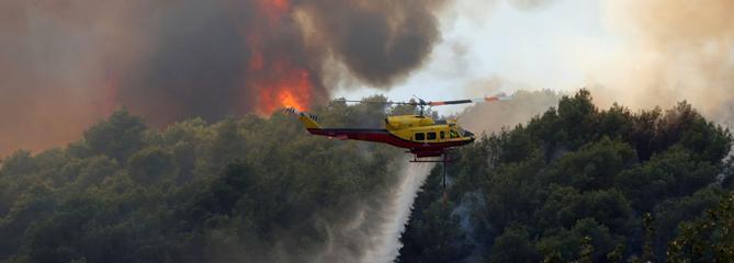 Plusieurs incendies en cours dans les Alpes-Maritimes et le Vaucluse