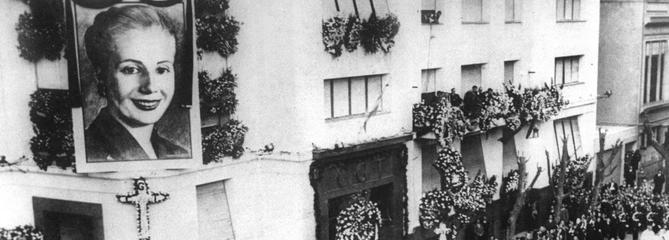 Il y a 65 ans, l'Argentine pleurait Evita