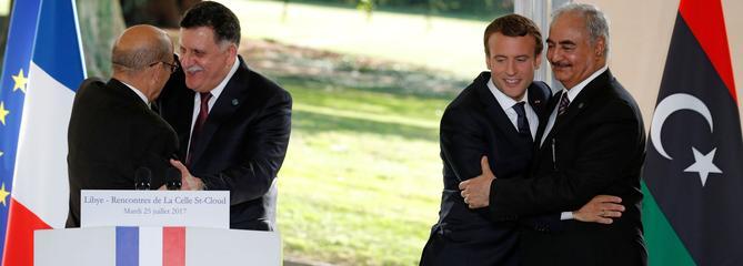 Libye : comment Macron a réussi à faire s'entendre les frères ennemis