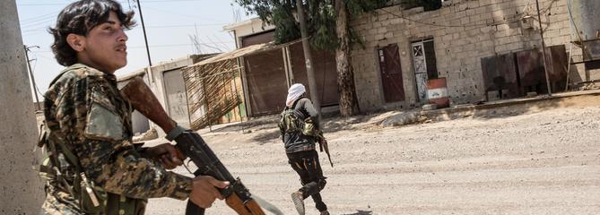 À la reconquête de Raqqa, avec la Brigade de la liberté