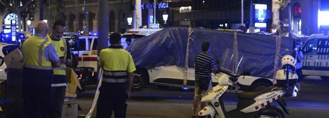 Barcelone: « La camionnette est passée à trois mètres de nous »