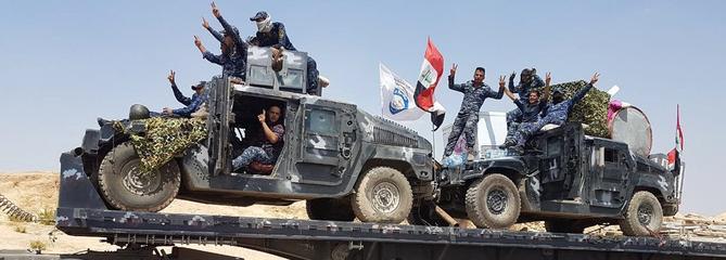 Les forces irakiennes à l'assaut de Tall Afar