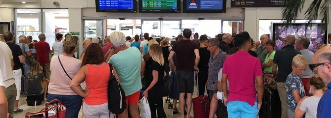 SNCF : début d'amélioration pour les milliers de passagers bloqués dans le sud-est