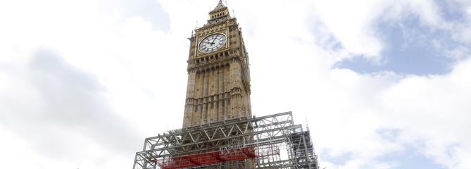 Londres: à 13 heures, la mise en sommeil de Big Ben