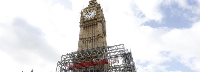 Londres: Big Ben, une institution en sommeil pour quatre ans