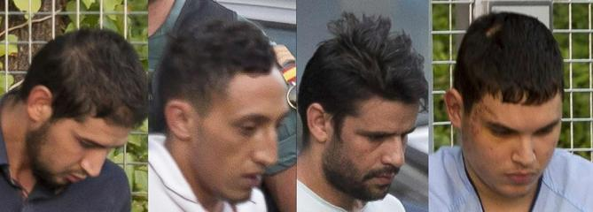 Attentats de Catalogne : quatre suspects devant la justice