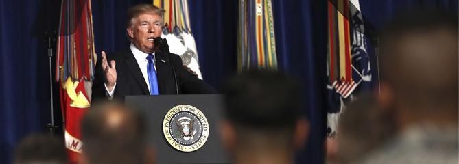 La nouvelle stratégie de Donald Trump pour l'Afghanistan