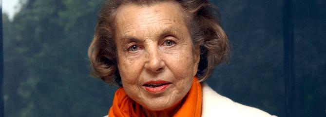 Liliane Bettencourt, héritière de L'Oréal, est morte à 94 ans