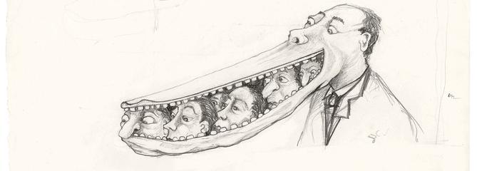Les dessins de Romain Duris exposés à Paris