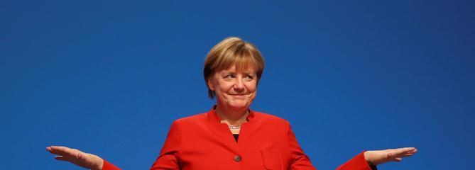 Le bilan économique de Merkel notamment dopé par les réfugiés
