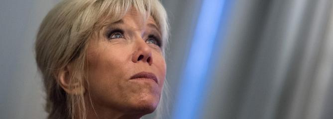 Brigitte Macron, l'anti-potiche