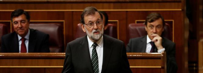 Madrid envisage une suspension de l'autonomie en Catalogne