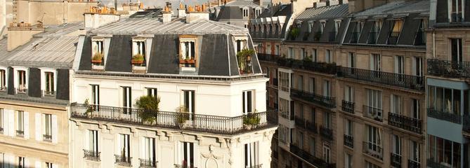 Le propriétaire d'un appartement familial dans une grande ville, dernier à payer l'ISF