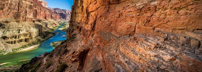 Grand Canyon du Colorado, le parfum de l'ouest sauvage