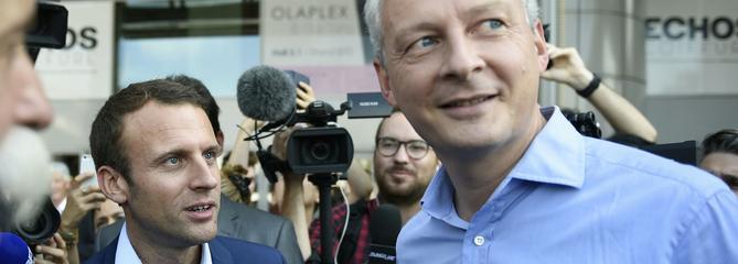 Bruno Le Maire exhorte Emmanuel Macron à se représenter en 2022