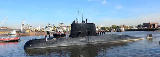 Argentine : la course contre-la-montre pour retrouver le sous-marin disparu