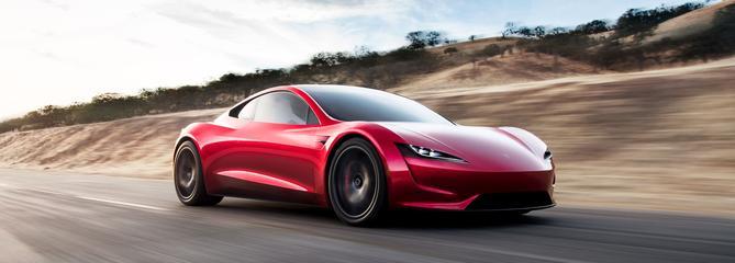 Tesla Roadster, une supercar électrique