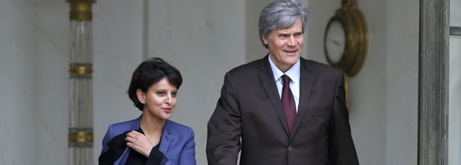 Au Parti socialiste, Vallaud-Belkacem et Le Foll s'activent
