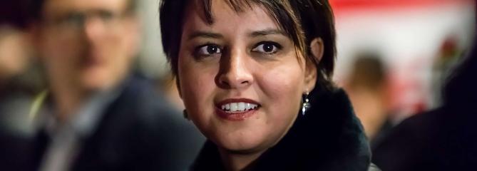 Najat Vallaud-Belkacem pressentie pour prendre la tête du PS