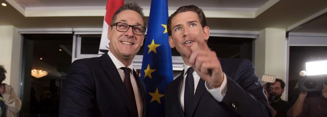 Autriche : l'extrême droite obtient trois ministères régaliens