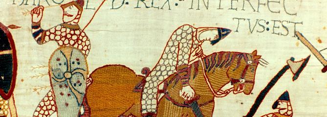 En 1944, la Tapisserie de Bayeux s'expose au Musée du Louvre